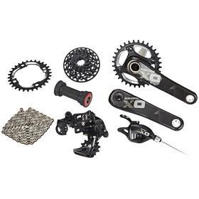 SRAM X01 DH - Piezas para bicicletas - 1x7s GXP Pressfit negro